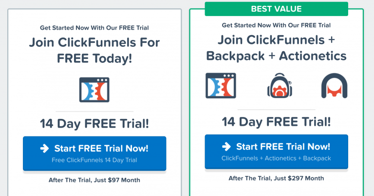 ClickFunnels Pricing - ClickFunnels Vs LeadPages